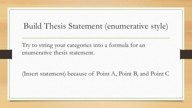 leo thesis statement Online writing lab thesis statements a thesis statement is one of the most important elements of any successful essay a thesis statement controls the subject matter.