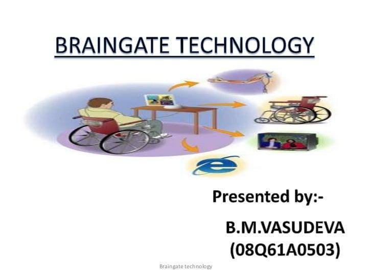 Braingate technology