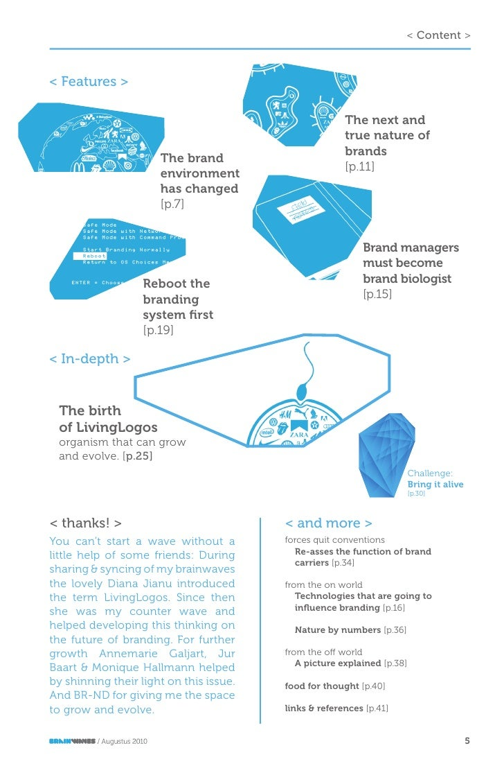 Next Steps: Brainwaves Issue 1 Next Steps In Branding
