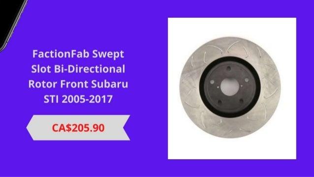 Brake Rotors and Suspension Brakes Products at SubieDepot Slide 2