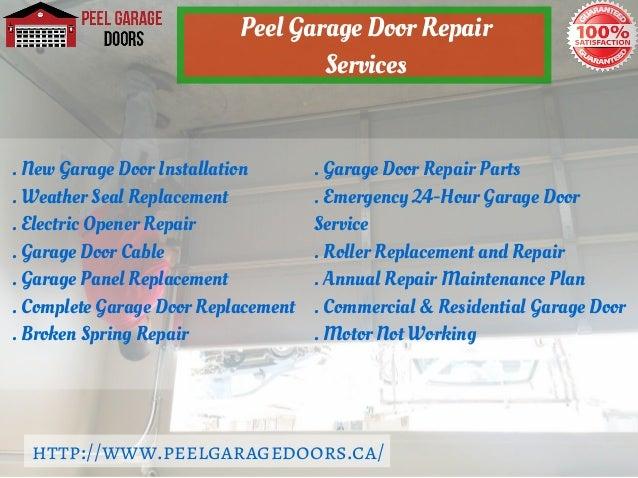 Brampton Garage Door Installation Repair Service Peel Garage Doors