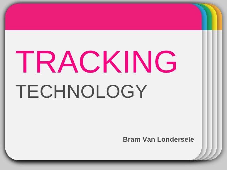 WINTE      Template TRACKING    R TECHNOLOGY              Bram Van Londersele