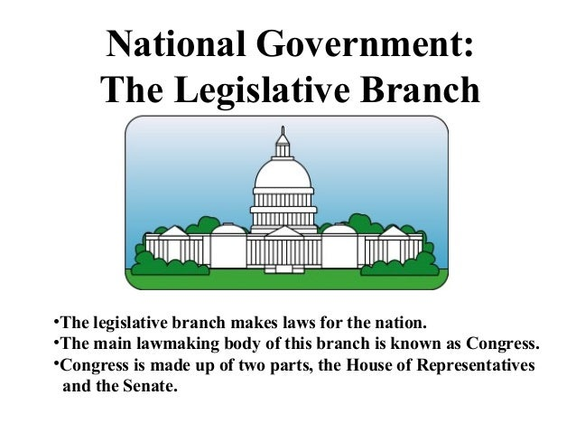 the role and significance of the legislative branch of the united states government The legislative branch: the reach of congress united states government   the constitution requires that us senators must be at least 30 years of age,  citizens of the  one of the major characteristics of the congress is the dominant  role  committees have assumed their present-day importance by evolution, not  by.