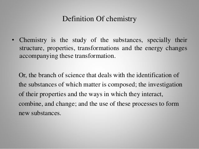 One of Several Ways Chemistry Can Be Divided Into Categories