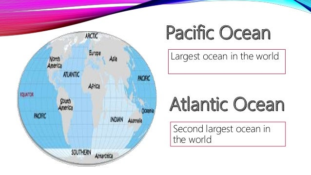 Branches Of Earth Science Under Hydrosphere - 5 largest ocean in the world
