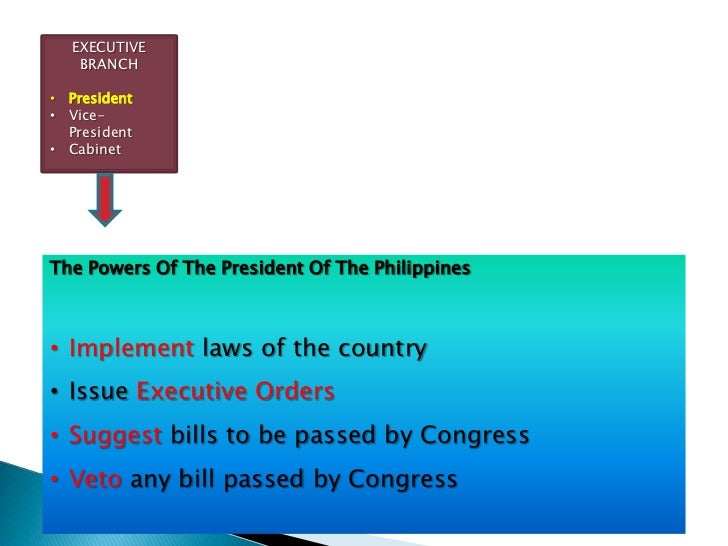 Branches of government Slide 3