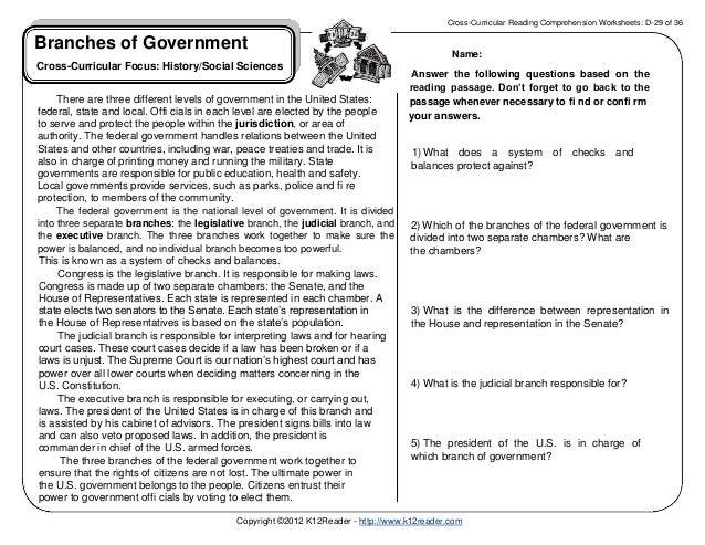 legislative branch worksheets Termolak – Executive Branch Worksheet
