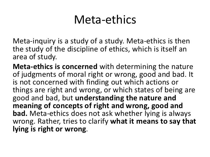 ethics branch of study dealing with The study of ethics is different from the study of psychology and sociology in that the latter fields are  as a branch of philosophy, ethics is the discipline that .