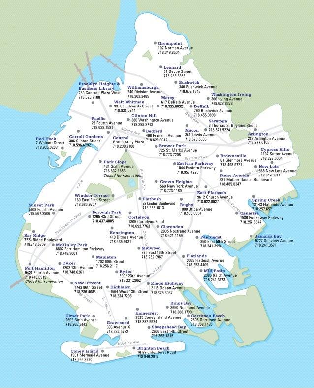 Branch map