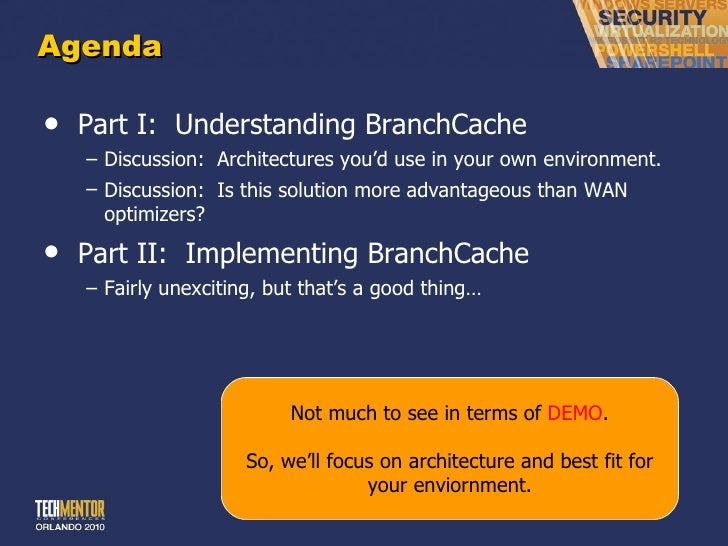 Branch office access with branch cache