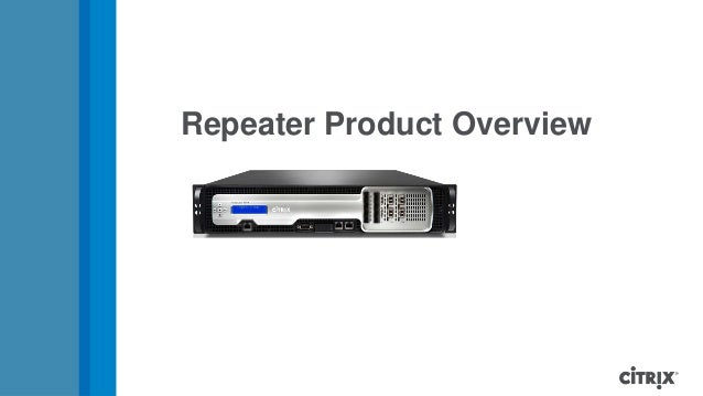 Branch repeater technical training presentation 26 oct-12