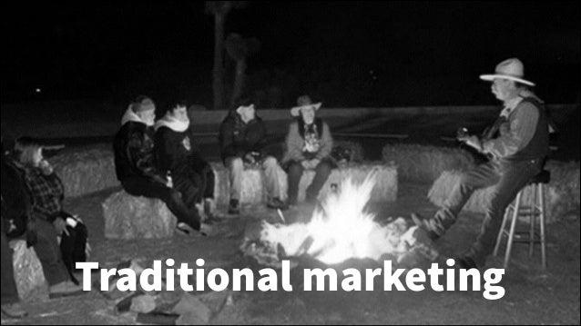 Traditional marketing !6