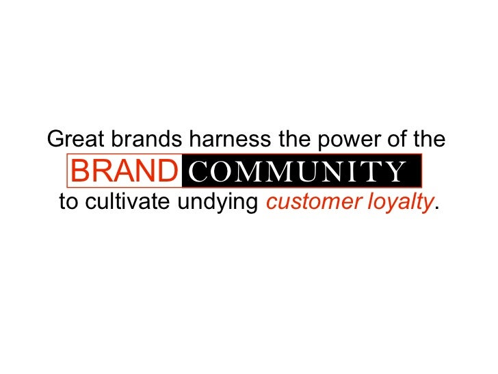 Great Brands Harness The Power