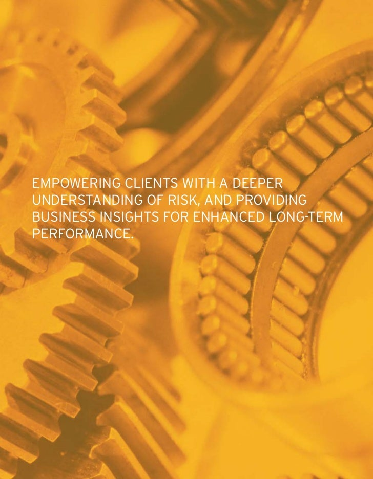 governance, risk and complianceevery business is exposed to risk, most often resulting from change - whether dueto market ...