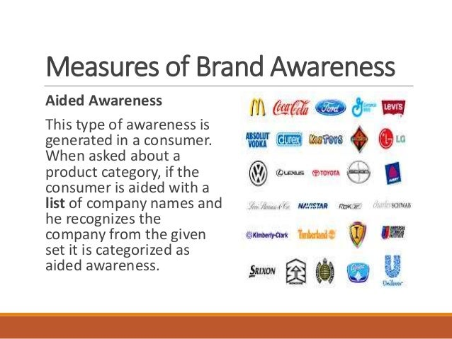 spontaneous consumer Provides consumer oriented and media research market intelligence from   there are two main measures of awareness: spontaneous (or unaided) and.