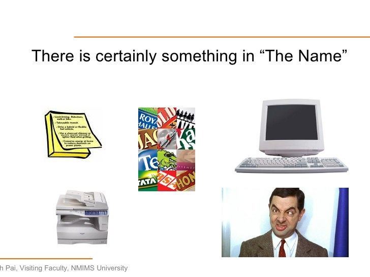 """<ul><li>There is certainly something in """"The Name"""" </li></ul>"""