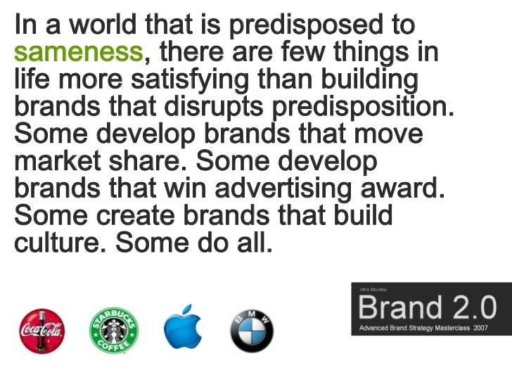 In a world that is predisposed to sameness, there are few things in life more satisfying than building brands that disrupt...