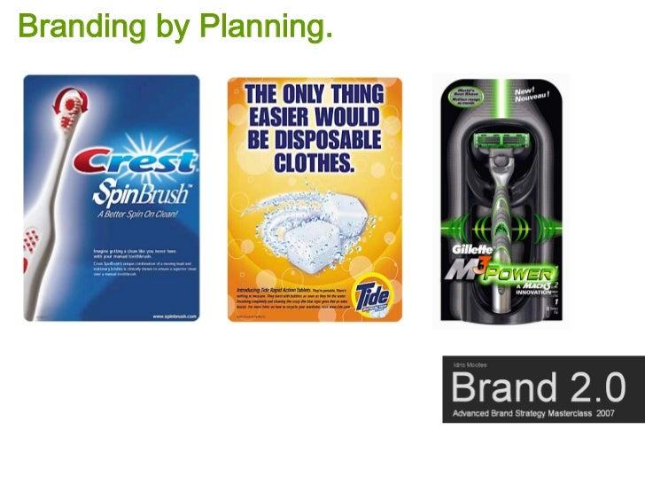Branding by Planning.