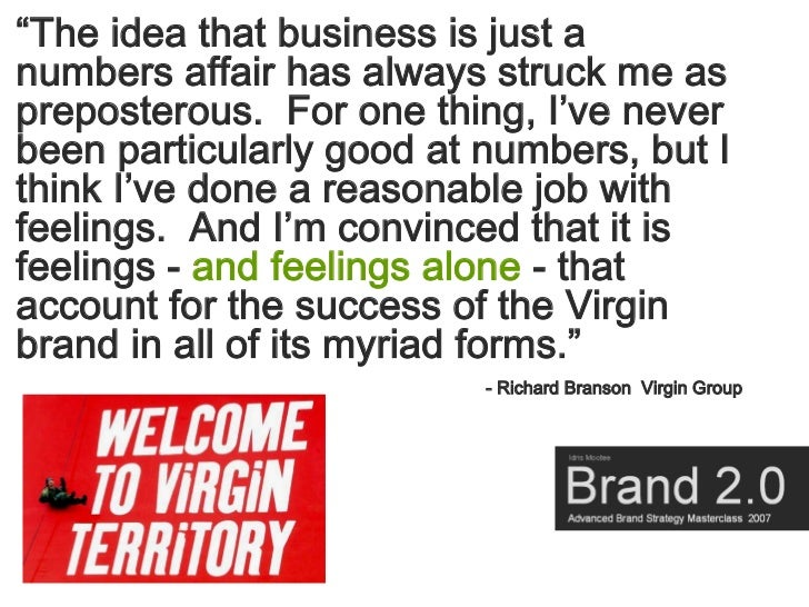 """""""The idea that business is just a numbers affair has always struck me as preposterous. For one thing, I've never been part..."""