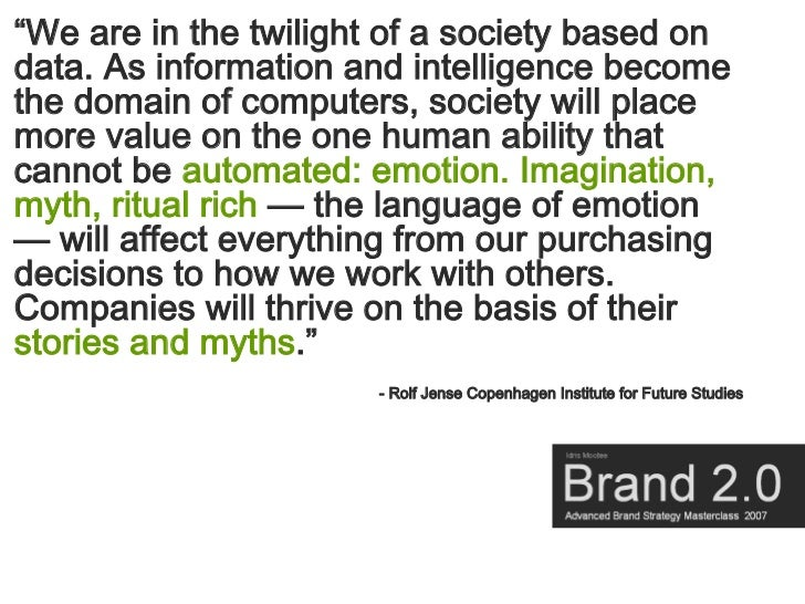 """""""We are in the twilight of a society based on data. As information and intelligence become the domain of computers, societ..."""