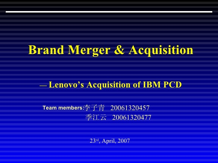 merger acquisition ibm and The following is a partial list of ibm precursors, acquisitions and spinoffsibm has undergone a large number of mergers and acquisitions during a corporate history lasting over a century the company has also produced a number of spinoffs during that time.