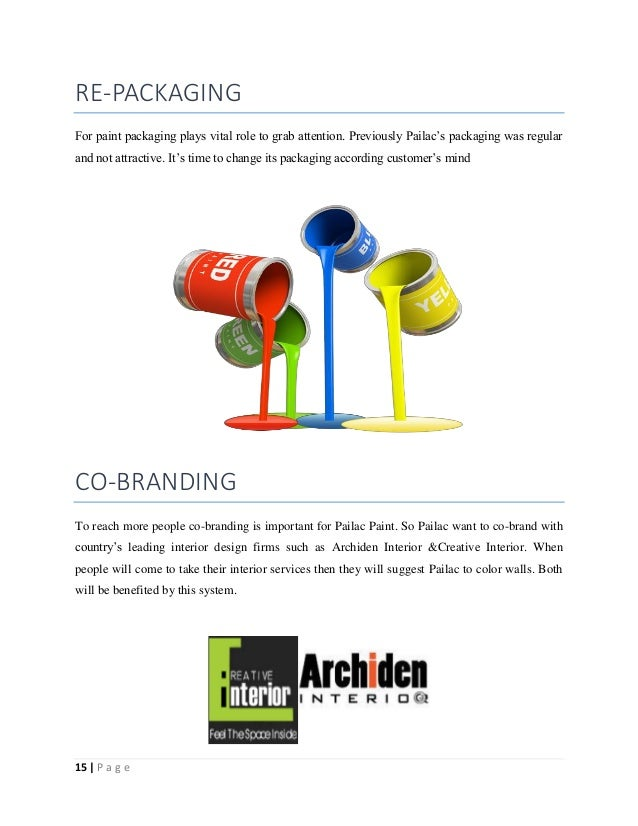 brand revitalization of pailac paints