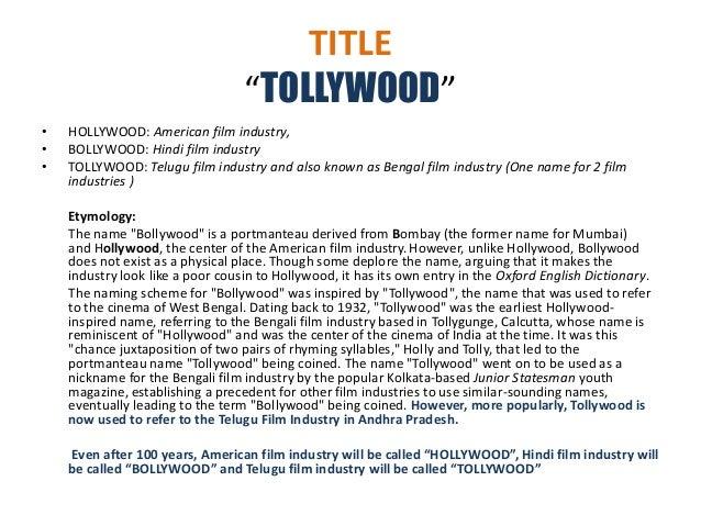 hollywood bollywood tollywood