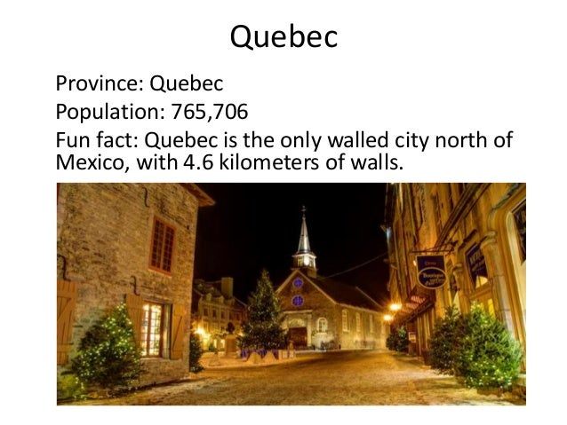 Most Populous Cities Of Canada