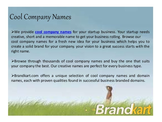 Brandable Domains Names for Sale