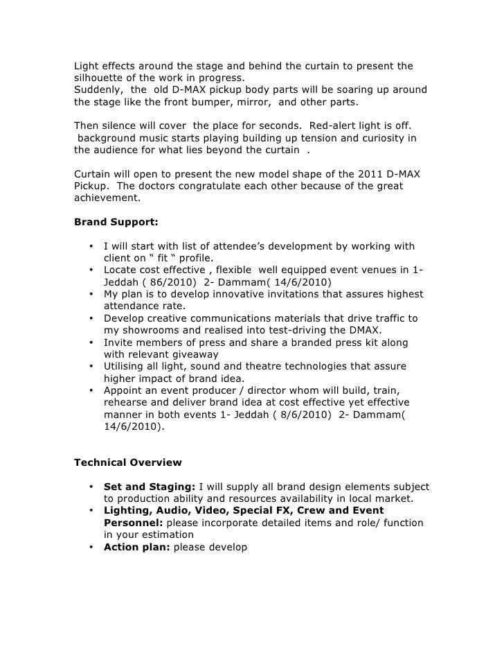 Brand action brief Slide 2