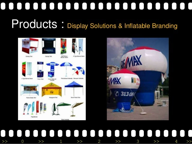 >> 0 >> 1 >> 2 >> 3 >> 4 >> Products : Display Solutions & Inflatable Branding