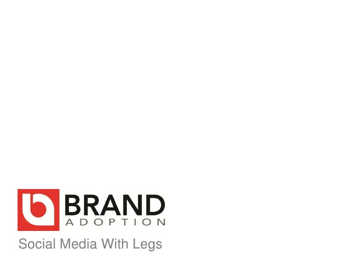 Social Media With Legs