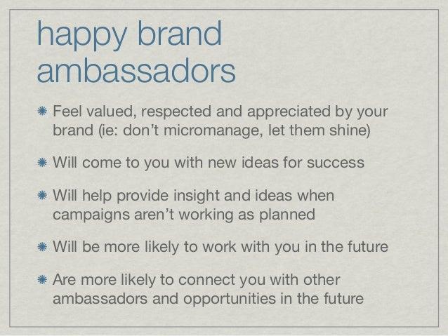 brand ambassador program blueprint by britt michaelian