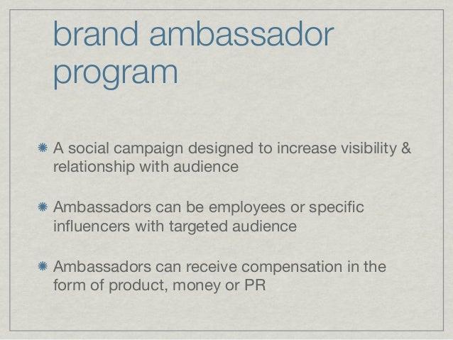 Brand Ambassador Freelancer Resume Sample