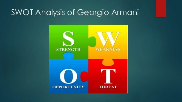 armani analysis Armani is now widely regarded as one of the most noted the emporio armani logo is a very memorable emblem which consists of an eagle that appears to look in the.