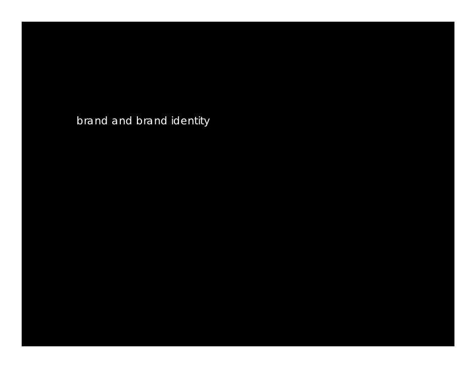 brand and brand identity