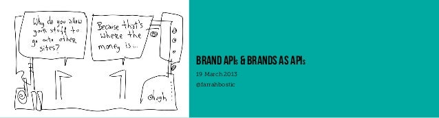 brand apis & brands as apis19 March 2013@farrahbostic