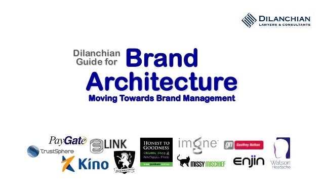 Brand ArchitectureMoving Towards Brand Management Dilanchian Guide for