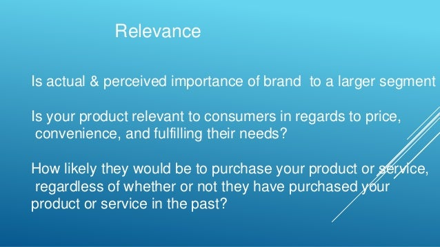 How Are Brands Differentiated?