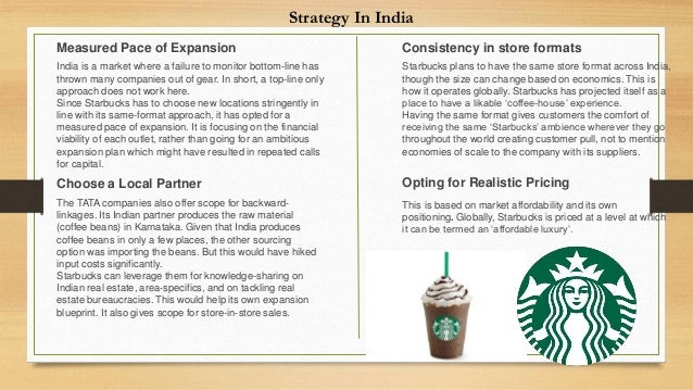 economies of scale for starbucks Economies of scale there are also economies of scale that would make competition difficult for a newcomer starbucks has over 23,000 locations it has more negotiating power than a new brand with a handful of coffee shops that means lower prices, higher profit margins or a combination thereof.