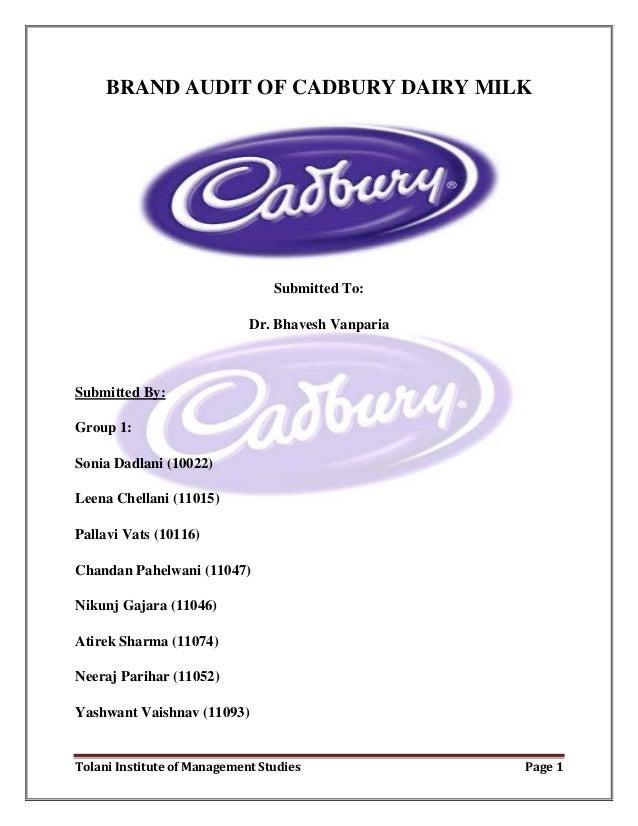 cadbury brand values