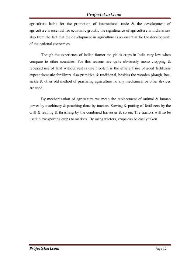 A Study on Brand Awareness of Mahindra & Mahindra Tractors