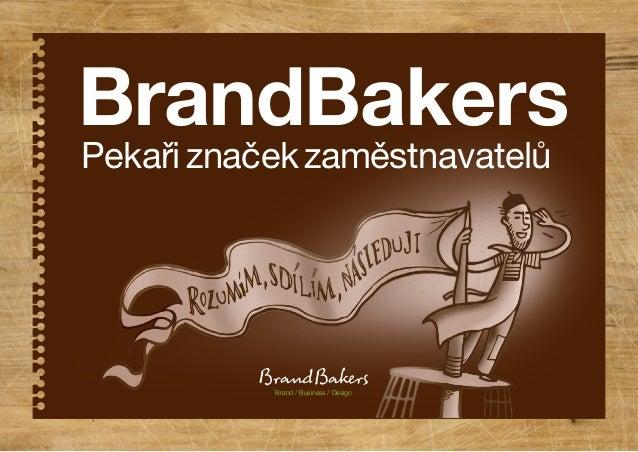 Pekařiznačekzaměstnavatelů BrandBakers Brand / Business / Design