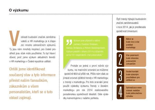 Výzkum trendů HR marketingu v České republice 2014 Slide 2