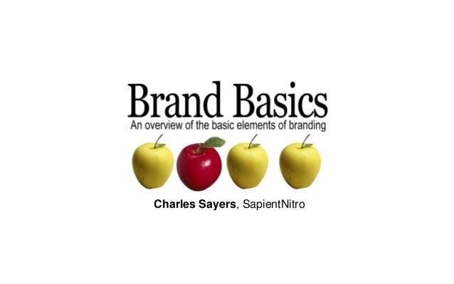 Charles Sayers, SapientNitro