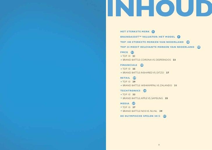 Brand Battle 2012 - De sterkste merken van Nederland Slide 2