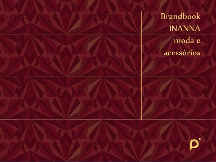 Brandbook  INANNA    moda e acessórios