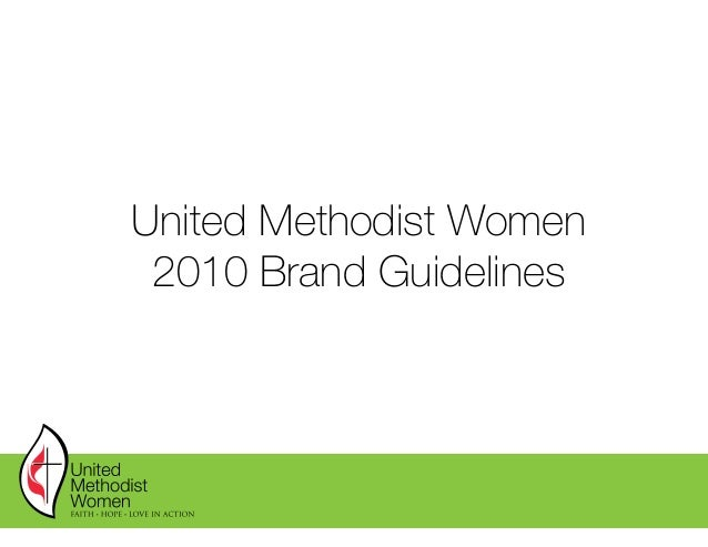 United Methodist Women 2010 Brand Guidelines