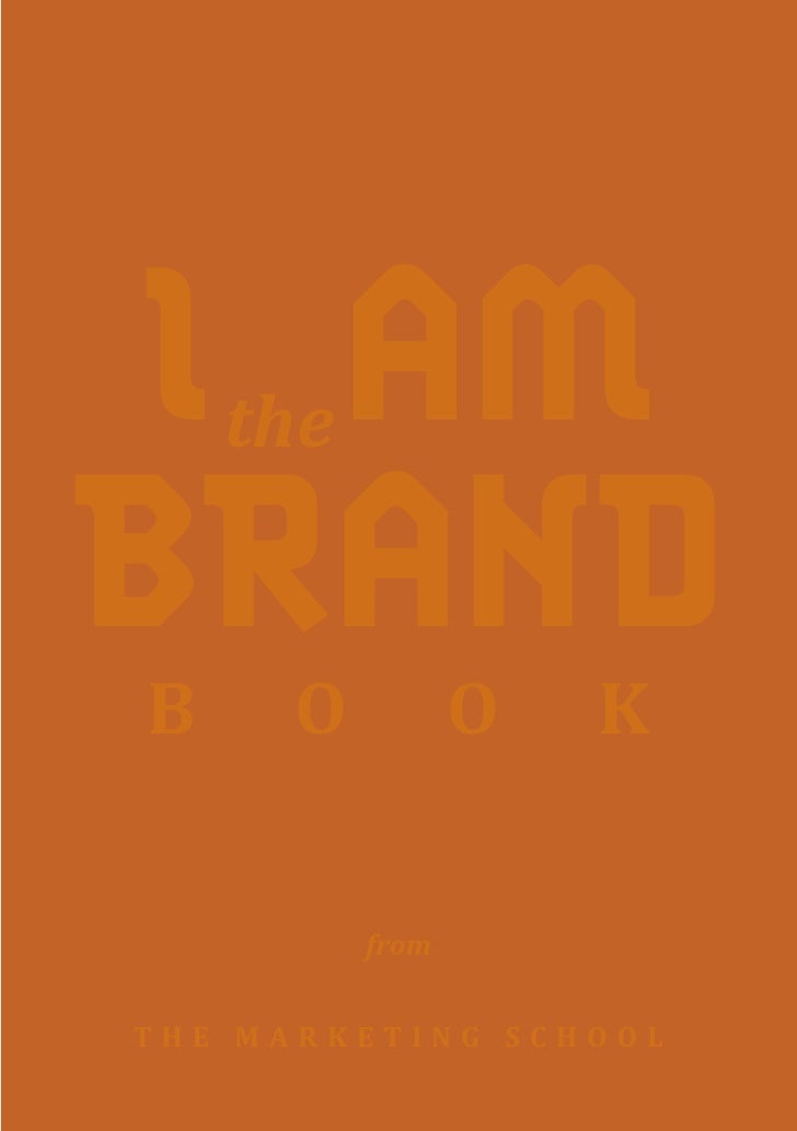 IPAM     the  BRAND B     O          O   K            from   THE MARKETING SCHOOL