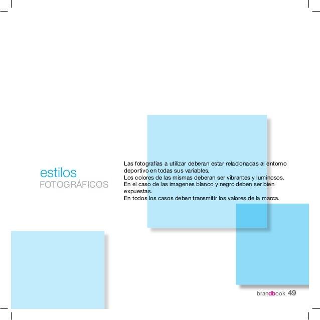 BrandbookDiseño e imagen de marca  Rocio Gonzalez. 2011